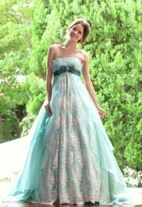 1154d81669ace ブログ ガーデンウェディングにおすすめ☆カラードレス | ウェディング ...
