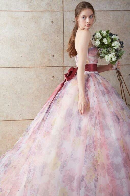 752f8f422626e 新作カラードレス試着会フェア☆ | ウェディングドレス 名古屋 SOPHIA ...